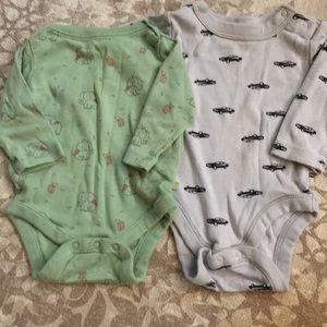 Other - Gap/Old Navy Baby Boy Onesie Bodysuit Long Sleeve